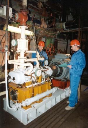 ПВМ на заводе Бекерон